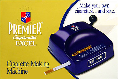 PREMIER SUPERMATIC EXCEL FILTER CIGARETTE MAKING MACHINE
