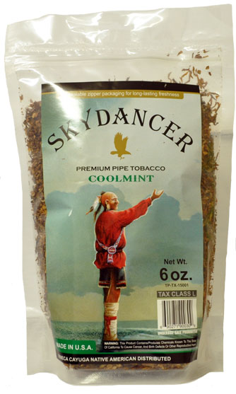 Skydancer Pipe Tobacco Coolmint 6oz Bag
