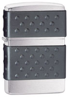 ZIPPO ZIP GUARD - BLACK BRUSHED CHROME