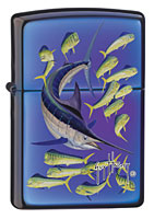 ZIPPO GUY HARVEY MARLIN - MOOD INDIGO