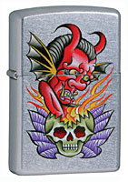 ZIPPO NOLA - STREET CHROME