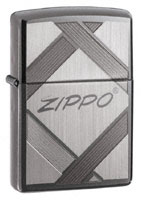 ZIPPO UNPARALLELED TRADITION - BLACK ICE