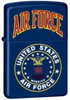 ZIPPO U.S. AIR FORCE - NAVY MATTE