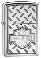 ZIPPO H-D MOTORCYCLES - HIGH POLISH CHROME