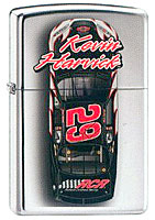 ZIPPO KEVIN HARVICK &quot;#29 CAR TOP VIEW&quot; - HIGH POLISH CHROME
