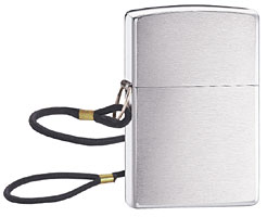 ZIPPO LOSSPROOF - BRUSHED CHROME