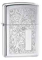 ZIPPO VENETIAN - HIGH POLISH CHROME