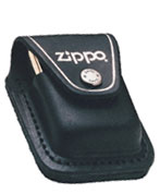 ZIPPO LIGHTER POUCH w/LOOP - BLACK