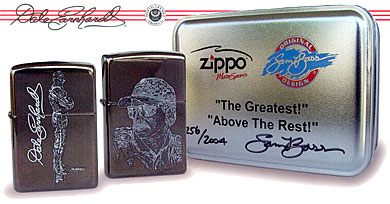 ZIPPO &quot;THE GREATEST&quot; &amp; &quot;ABOVE THE REST&quot; - BLACK ICE