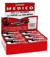 Medico Pipe Filters 2 1 - 4 - 12 boxes of 10 each