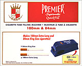 PREMIER SUPERMATIC QUICK FILL FILTER CIGARETTE MAKING MACHINE