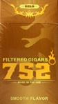 752 Degrees Little Cigars Gold Box
