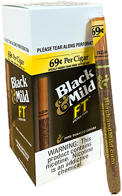 Black and Mild Filter Tip Cigars 30ct Box