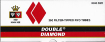 Double Diamond Cigarette Tubes Red  200ct