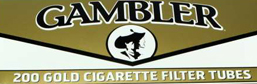 Gambler Light King Size Cigarette Tubes 200ct