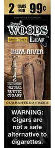 Good Times Sweet Woods Leaf Rum River 15ct