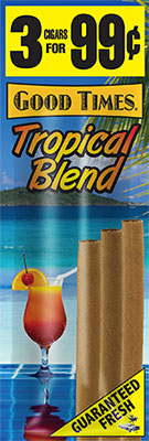 Good Times Cigarillos Tropical Blend 45ct