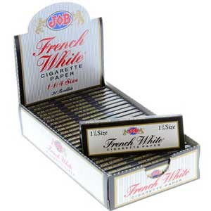 Job French White 1.25 Rolling Papers 24ct Box