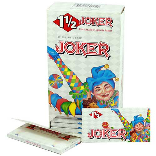 Joker 1.5 Rolling Papers 24ct Box
