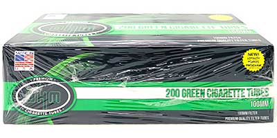 OHM Green 100 Cigarette Tubes 200ct