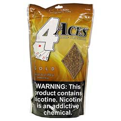 4 Aces Gold 16oz Pipe Tobacco