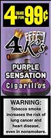 4 Kings Cigarillos Purple Sensation 15ct Box