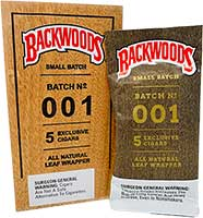 Backwoods Cigars Small Batch 001 5 Exclusive Cigars