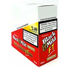 Black and Mild Filter Tip Sweets Cigars 110mm 10 5pks Pre Priced