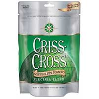 Criss Cross Virginia Blend Menthol 3oz Pipe Tobacco