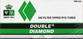Double Diamond Cigarette Tubes Green 100 200ct