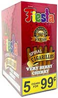 Fiesta Cigarillos Very Berry Cherry 15ct