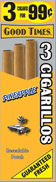 Good Times Cigarillos Pineapple 45ct