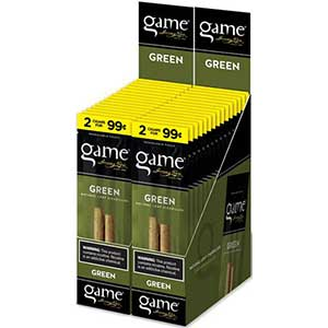 Game Cigarillos Green 30ct