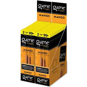 Game Cigarillos Mango 30ct