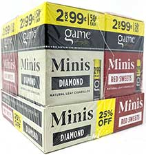 Game Mini Cigarillos Red Sweets and Diamond Combo