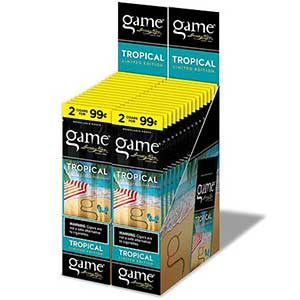 Game Cigarillos Tropical 30ct