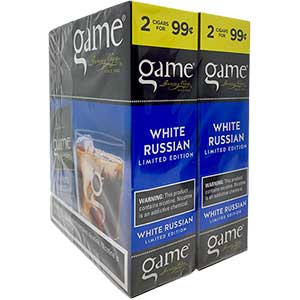 Game Cigarillos White Russian 30ct