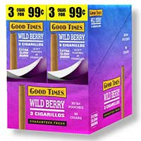 Good Times Cigarillos Wild Berry 30ct