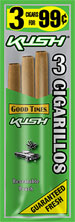 Good Times Cigarillos Kush 45ct