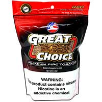 Great Choice Pipe Tobacco Red 6oz