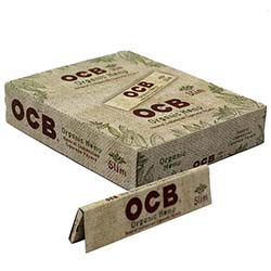 OCB Organic Hemp Slim Rolling Papers 24ct