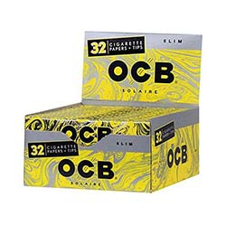OCB Solaire Rolling Papers 24ct
