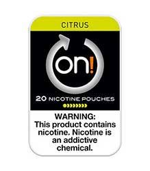 ON Nicotine Pouches Citrus 2mg 5ct