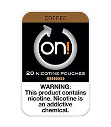 ON Nicotine Pouches Coffee 4mg 5ct