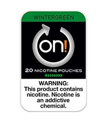ON Nicotine Pouches Wintergreen 4mg 5ct