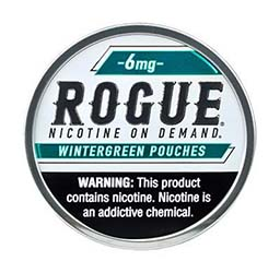 Rogue Nicotine Pouches Wintergreen 6mg 5ct