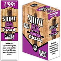 Show Cigarillos BK Honey Berry 15 2pks