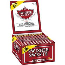 Swisher Sweets Cigarillos 60ct Box