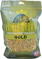 Triple Crown Pipe Tobacco Gold 16oz