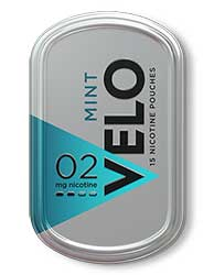 VELO Nicotine Pouches Mint 2mg $0.50 OFF 5ct